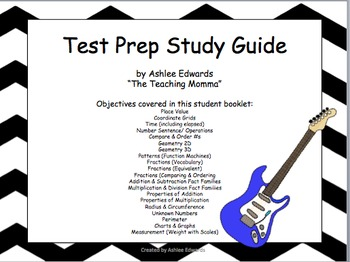 Test Prep Study Guide Bundle