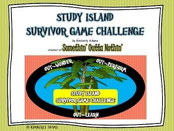 Test Prep (Study Island Survivor Game Challenge)