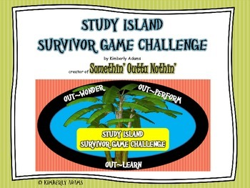 Test Prep (Study Island Survivor Game Challenge)