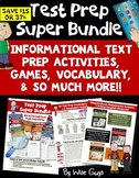 Test Prep Bundle Including Vocabulary Activities and Games
