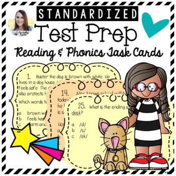 Test Prep Task Cards