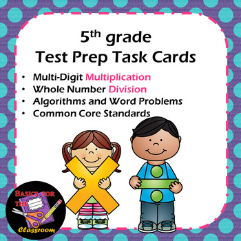 Test Prep Task Cards