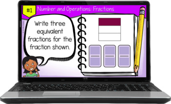 Test Prep Task Cards {4th Grade Common Core Math: All Standards}