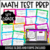4th Grade Math Test Prep Task Cards {4th Grade Common Core
