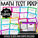 4th Grade Math Test Prep Task Cards {4th Grade Common Core