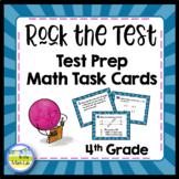 Test Prep Task Cards - 4th Grade Math