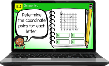 5th Grade Math Test Prep Task Cards {5th Grade Common Core Math: All Standards}