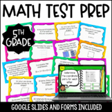 5th Grade Math Test Prep Task Cards {5th Grade Common Core