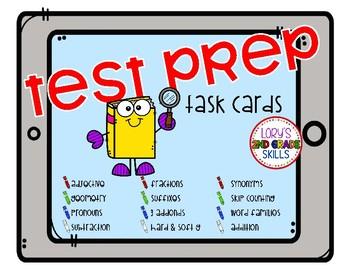 Test Prep Task Cards - Books