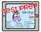 Test Prep Task Cards - Unicorn