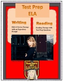 Taylor Swift STAAR PREP: Reading, Edit/Revise, and Expository prompt