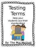 Test Prep Terms