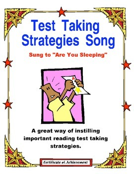 Test Prep- Test Taking Strategies Reminder Song 2