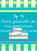 Test Prep Tip & Motivational Posters