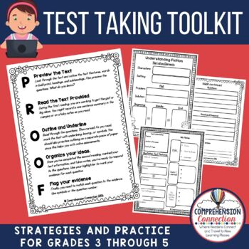 This thorough bundle includes anchor charts for each skill, procedural foldables and flipbooks that guide students on how to tackle long passages, close reading materials, question stem cards, word work materials for context clues, synonyms/antonyms, text structures materials, and more.