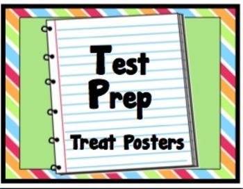 Test Prep Treat Posters