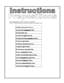 Test Prep Vocab Interactive Notebook