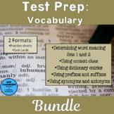 Test Prep Vocabulary Bundle