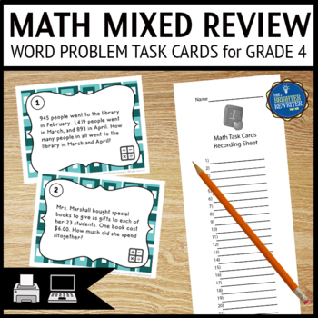 Division Word Problems 4th Grade Teaching Resources | Teachers Pay ...
