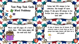 Test Prep Word Problems Task Cards
