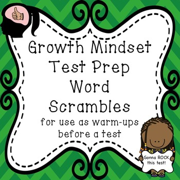 Test Prep: Word Scramble Warm-ups