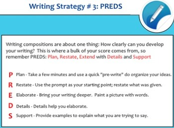 Test Prep Writing Guide