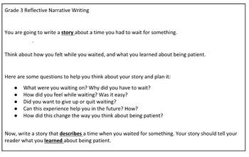 Test Prep Writing Third Grade Practice Prompt Bundle