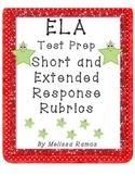 Test Prep Written Response Rubrics ELA