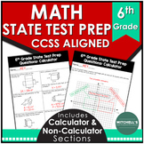 6th Grade Math Test Prep Aligned with CCSS