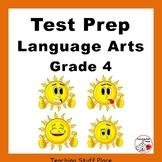 TEST PREP Language Grade 4 ... CORE Skills Worksheets
