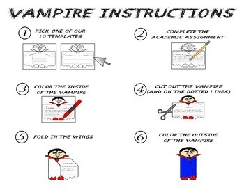 Halloween Reading Comprehension - Informational Text * Questions * Foldable