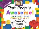Test Prep is Awesome!  First Grade Math MOVE IT!