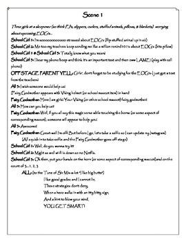 Test Preparation Skit (EOG or similar big exam/state assessment)
