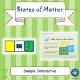 States of Matter Interactive Game