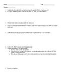 Test Question Analysis Worksheet