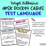 Test Question Language Cards