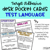 Test Question Language Cards