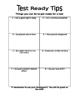 Test Ready Tips