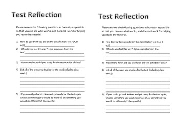 Test Reflection