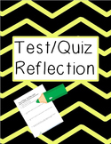 Test Reflection Form