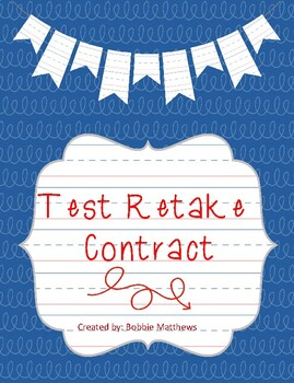 Test Retake Contract