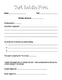 Test Retake Form