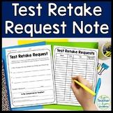 Test Retake Request