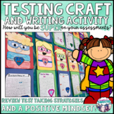 Test Review Craftivity {What Makes Me SUPER?}