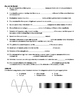 Test Review - Waves, Periodic Motion, + Sound