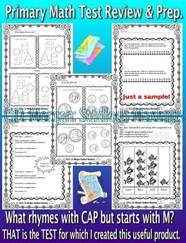 Test Review and Prep Bundle - Primary Math and ELA Skills