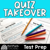 Test Review for Any Subject