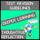Test Revision Guidelines - Deeper Learning Through Thought