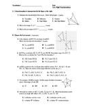 Geometry Test (2 Versions) - Rigid Transformations