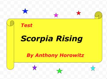 Test:  Scorpia Rising  by Anthony Horowitz